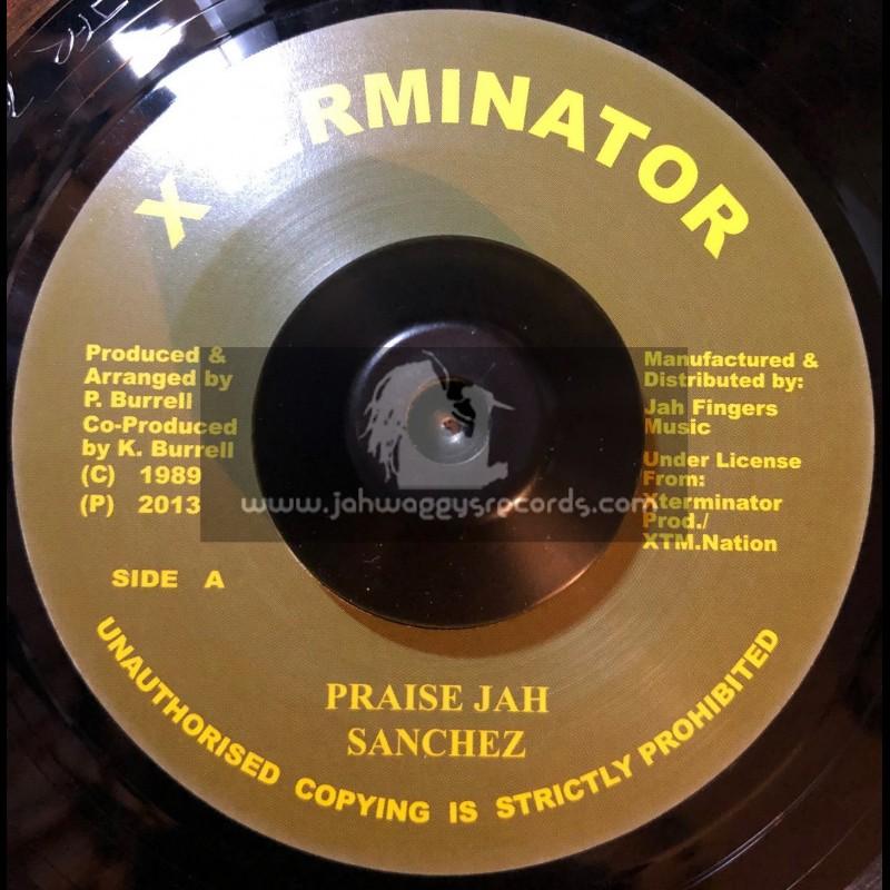 """Test Press-7""""-Praise Jah / Sanchez"""