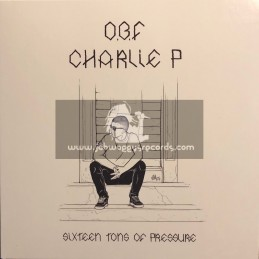 """O.B.F Records-7""""-Sixteen Tons Of Pressure / Charlie P"""