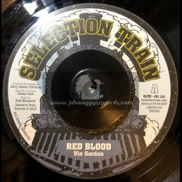 "Selection Train-7""-Red Blood / Vin Gordon"
