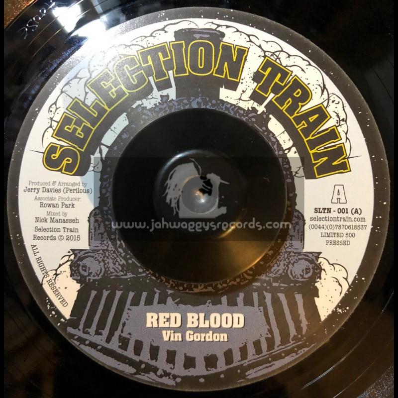 "Selection Train-7""-Red Blood / Vin Gordon"