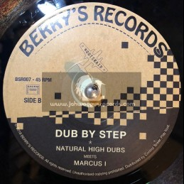 "Berrys Records-7""-Step By Step / Natural High Dubs Meets Marcus I"