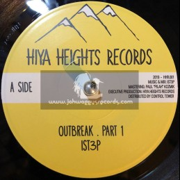 """Hiya Heights Records-7""""-Outbreak / IST3P"""