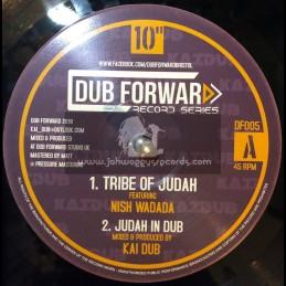 """Dub Forward-10""""-Tribe Of Judah / Nish Wadada + Root Of David / I David"""