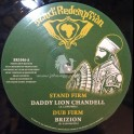 """Black Redemption-10""""-Stand Firm / Daddy Lion Chandell + Call On Jah / Sista Kaya"""