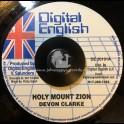 "DIGITAL ENGLISH-7""-HOLY MOUNT ZION / DEVON CLARKE"