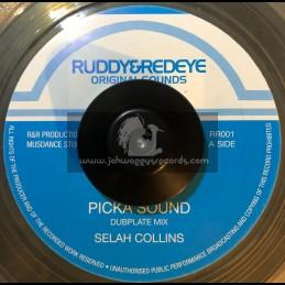 """RUDDY & REDEYE-7""""-PICK A SOUND / SELAH COLLINS"""