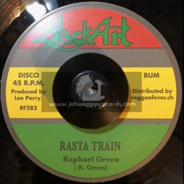 "Black Art-7""-Rasta Train / Raphael Green & Doc Alimantado + Ashes And Dust / Lee Perry"