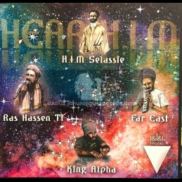 "I&I&I Music-10""-Hear H.I.M / Ras Hassen Ti + So Long Rastafari Call You / Far East - King Alpha Dubwise"