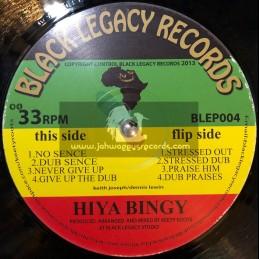 """Black Legacy Records-12""""-EP-Hiyah Bingy"""