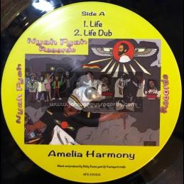 "Nyah Fyah Records-10""-Life / Amelia Harmony + Part Of Life / Kai Dub meets Rastayard Studio"