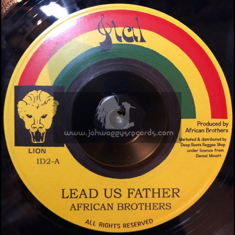 """Ital Lion-7""""-Lead Us Father / African Brothers"""