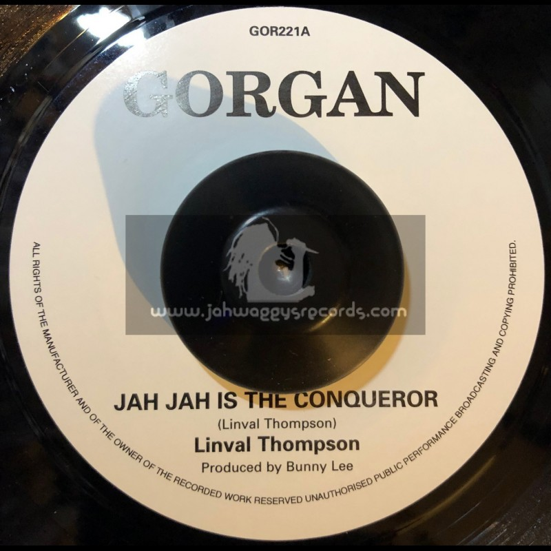 "Gorgan-7""-Jah Jah The Conqueror / Linval Thompson"
