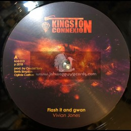 "Kingston Connexion-12""-Flash It And Gwan / Vivian Jones"