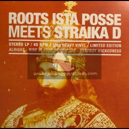 Roots Ista Posse-LP-Roots Ista Posse Meets Straika D - 180g Limited Edition