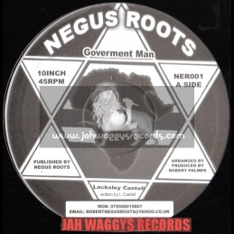 """Negus roots-10""""-Goverment man / Lacksley castell + What are we doing to our children / Earl 16"""