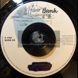 "RiverBank Records-7""-A Little More Time / G Vibes"