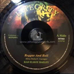 """Integrity-7""""-Reggae & Roll / Ras Elroy Bailey"""