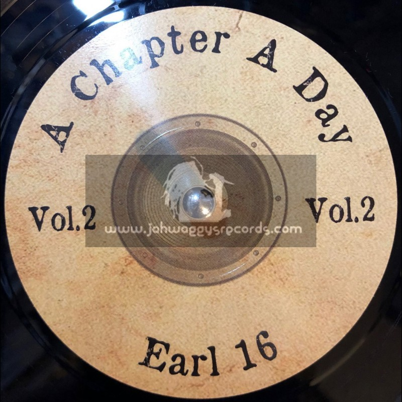 """Scoops-7""""-A Chapter A Day / Vibronics feat. Earl 16"""