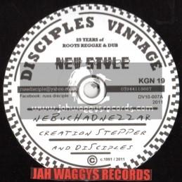 "Disciples vintage-10""-Nebuchadnezzar + Ozone layer / Creation stepper"