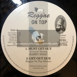 "Reggae On Top-12""-Must Get Out + Work For Your Living / Barry Issac"