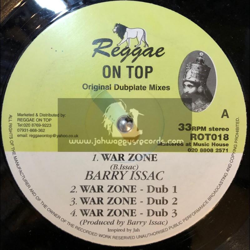 "Reggae On Top-12""-War Zone / Barry Issac"