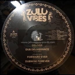 "Zulu Vibes-12""-Deliver / Marcus Gad + Forward Ever / Guru Pope"