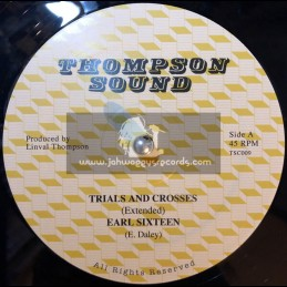 "Thompson Sound-12""-Trials And Crosses / Earl Sixteen + Follow Fashion / Sammy Dread"