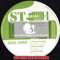 "St bass music-12""-African people / Earl zero + Aba shaka / Zilvy"