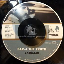 "Debtera Records-7""-Far I The Truth / Babbajah + Far I Dub / Kingstep & Nomadix"