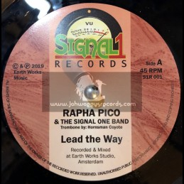 "Signal 1 Records-7""-Lead The Way / Rapha Pico & The Signal One Band"