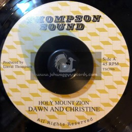 "Thompson Sound-7""-Holy Mount Zion / Dawn And Christine + Shockin Rock / The Revolutionaries"