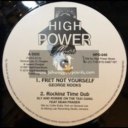 """High Power Music-12""""-Fret Not Yourself / George Nooks + Sell Out / Al Campbell"""