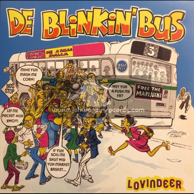 Jamaican Art Records-Lp-De Blinkin Bus / Lovindeer