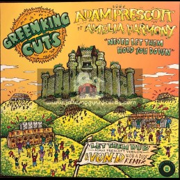 """Green King Cuts-12""""-Never Let Them Hold You Down / Adam Prescott Ft Amelia Harmony"""