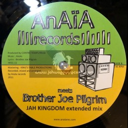 "Anaia Records-12""-Jah Kingdom + Faith / Brother Joe Pilgrim"