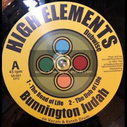 "Shieldrum Records-12""-The Road Of Life / Bunnington Judah"
