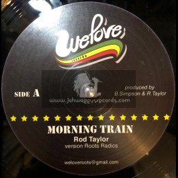 """WE LOVE RECORDS-12""""-MORNING TRAIN + IN THIS TIME / ROD TAYLOR"""