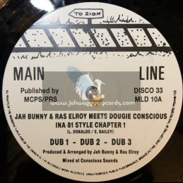 JAH BUNNY & RAS ELROY MEETS DOUGIE CONCIOUS-INNA 81 STYLE CHAPTER 1 & 2