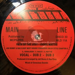 """Main Line-12""""-Jah Bunny & Ras Elroy Meets Dougie Conscious Ina 81 Style Chater 2 & 3"""