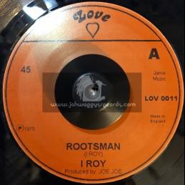 "Love-7""-Rootsman / I Roy"