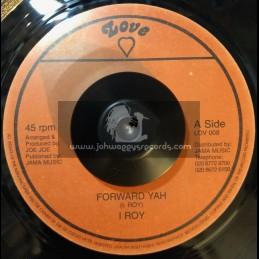 """Love-7""""-Forward Yah / I Roy"""