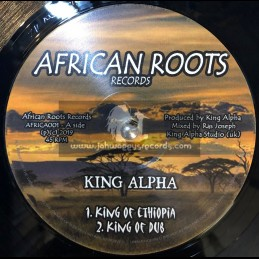 "African Roots Records-12""-King Of Ethiopia / King Alpha"