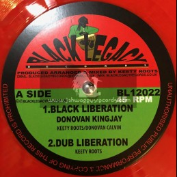 "Black Legacy Records-12""-Black Liberation / Donovan Kingjay + Great Steve Biko / Donovan Kingjay"