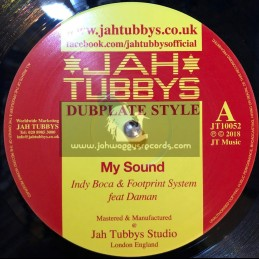 "Jah Tubbys-10""-My Sound / Indy Boca & Footprint System feat. Daman + November Dub / Brizion"