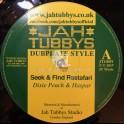 """Jah Tubbys-10""""-Seek And Find Rastafari / Dixie Peach & Haspar + White Riddim / Eleven"""