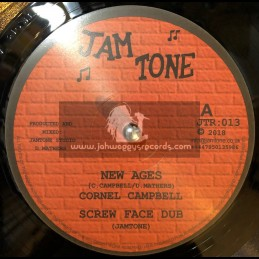"Jam Tone-12""-New Ages / Cornel Campbell + So Jah Say / Robert Dallas & Earl Sixteen"