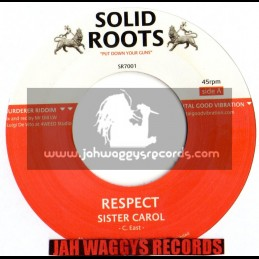 """Solid roots-7""""-Respect / Sister carol"""