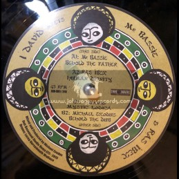 """Dub O Matic Records-12""""-Behold The Father / Mr Bassie"""