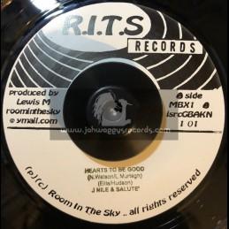 "R.I.T.S Records-7""-Hearts To Be Good / J Nile & Salute + Big Bad Boy / Christopher Ellis & Salute"