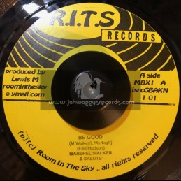"R.I.T.S Records-7""-Be Good / Marshall Walker + What The World Needs / R Zee Jackson"